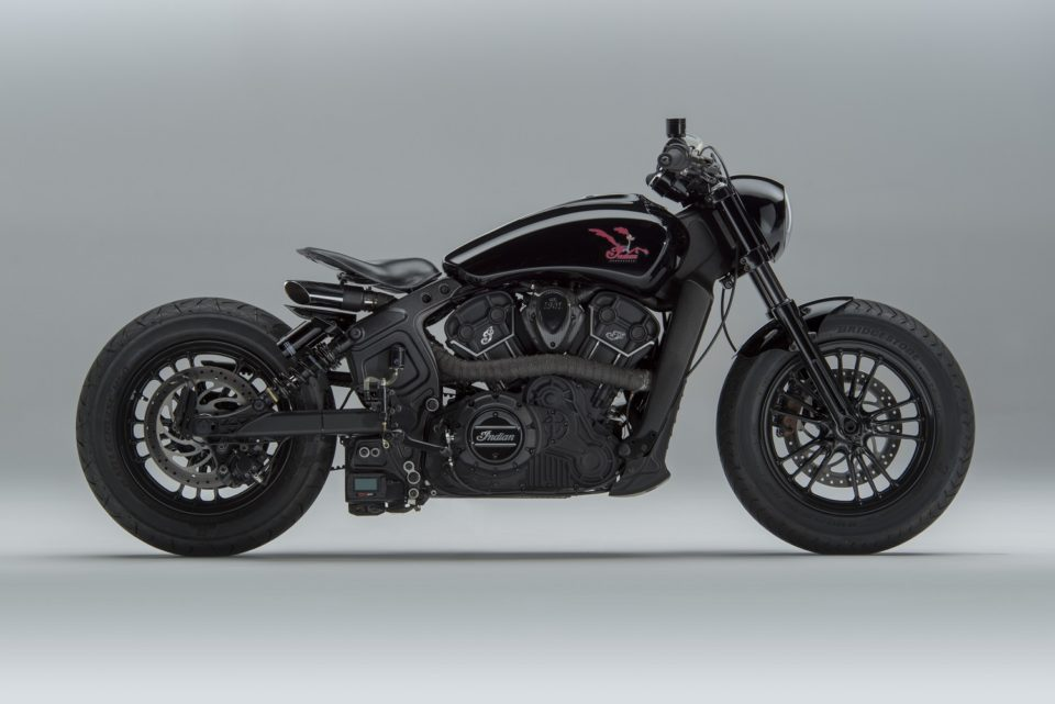 MotoShed's 'Road Runner' Indian Scout Sixty